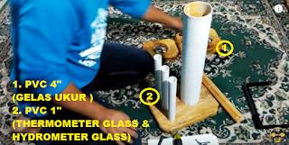 Cara Pasang Pipa Gelas Thermometer dan Hydrometer Pertamina dan Pertamini