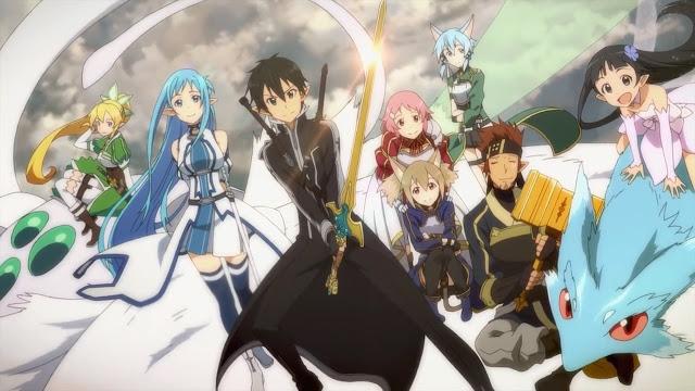 kirito harem sword art online