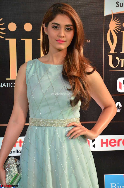 Surabhi Beautiful Smile at IIFA Utsavam Awards 2017  Day 2 at  02.JPG