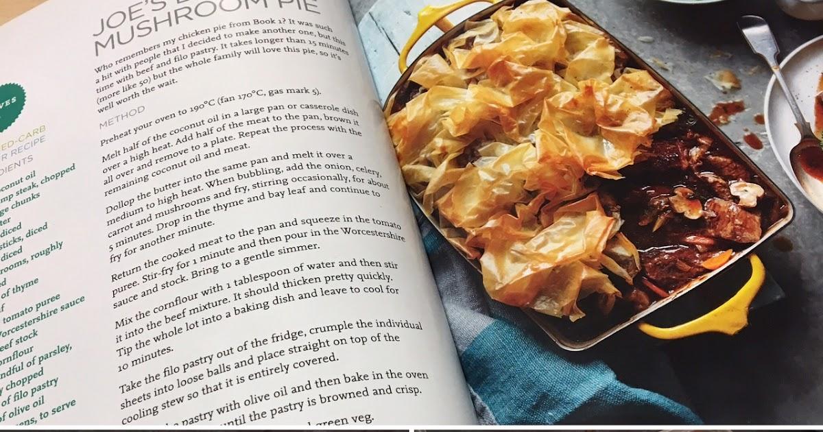 Eating Yourself Slim: Joe Wicks Beef & Mushroom Pie