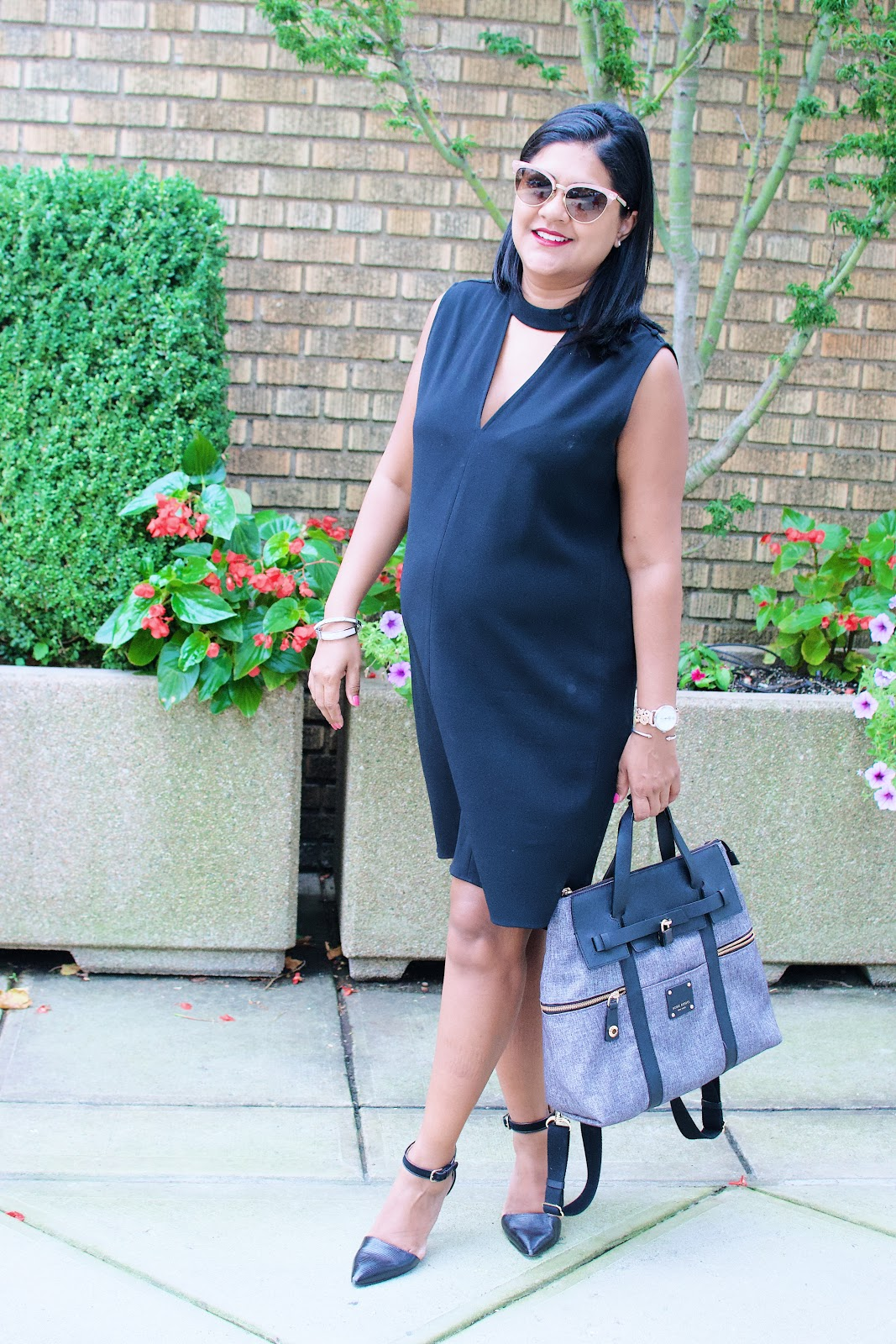 maternity style, dressing the bump, 6 months pregnant fashion