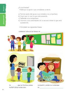 Apoyo Primaria Formación Cívica y Etica 2do. Grado Bloque II ¿Qué aprendí?