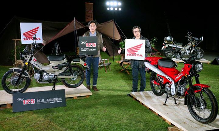 Honda CT125 đậm chất chơi đến thị trường Đông Nam Á, giá 2.700 USD