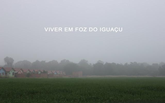 O inverno chegou em Foz do Iguaçu com gripe, inflamação na garganta, H1n1 e falta de roupa de frio!