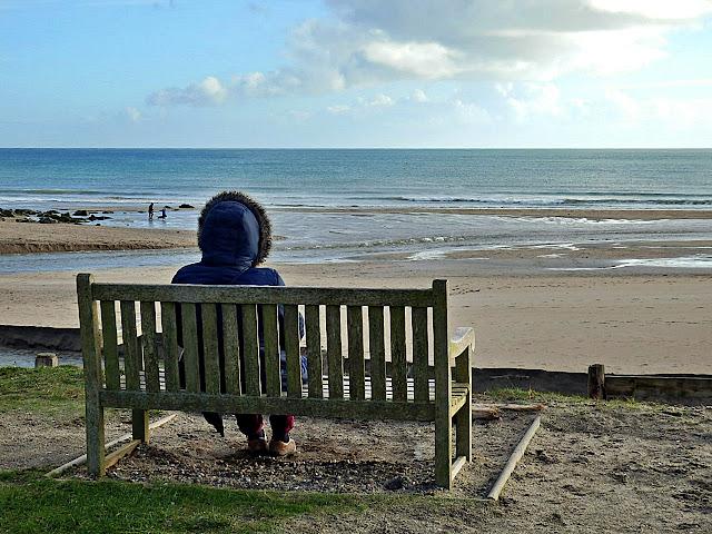 Pentwan Beach seat