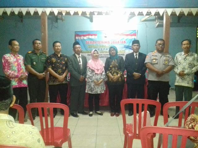 Serah Terima Jabatan Kepala Desa Jati  kepada Penjabat (Pj)