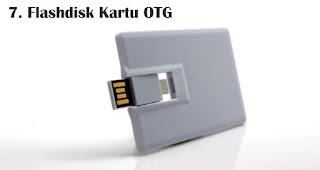 Flashdisk Kartu OTG merupakan salah satu jenis flashdisk kartu untuk dijadikan souvenir