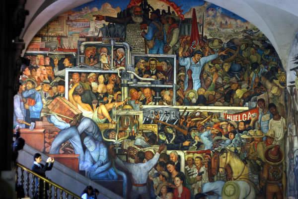Grafiti atau Lukisan Dinding demo, kerusuhan dan politik
