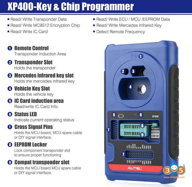 autel-XP400-software-function