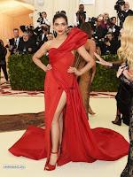 Deepika Padukone Looks stunning in Red Gown at 2018 MET Costume Insute Gala ~  Exclusive 09.jpg