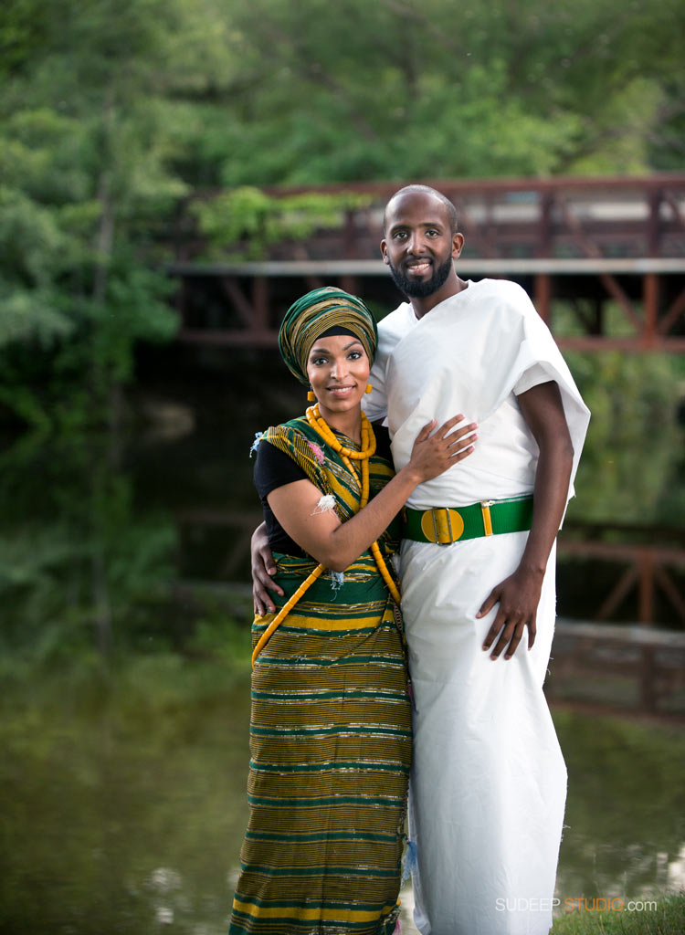 Portraits in African Ethnic Clothes Attire - SudeepStudio.com