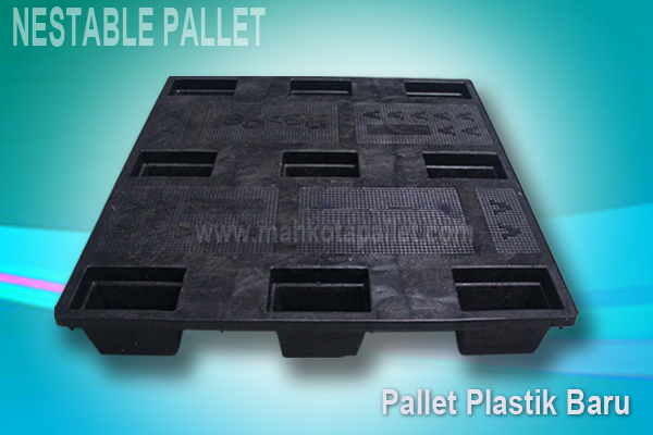 Pallet Plastik Baru Murah Ukuran 1090x1090x150 mm