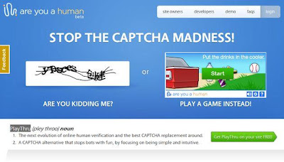 PlayThru, la alternativa al CAPTCHA