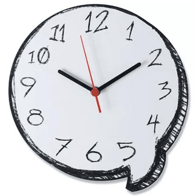 Relógio de Parede Balão de Gibi (1)