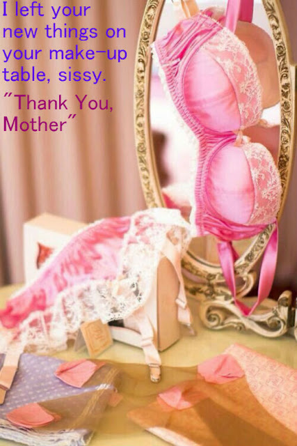 Thank you mom Sissy TG Caption - Brandi TG Tales - Crossdressing and Sissy Tales and Captioned images