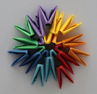 DIY-Basteltipp für eine 3-D-Origami-Schale von Ars Vera