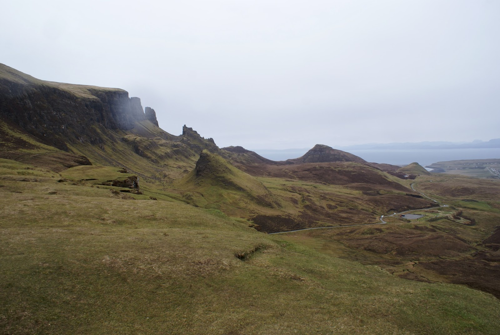 quiraing isle of skye scotland united kingdom uk