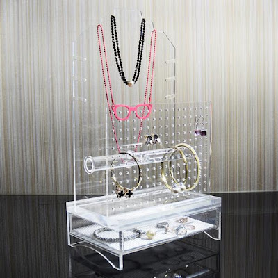 Get mom the Nile Corp Acrylic Hanging Jewelry Storage Organizer this Mother's Day
