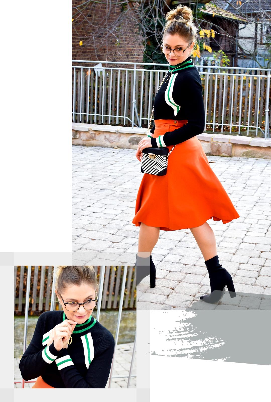 Welche Farben passen zu Orange? Wie style ich Orange? Modeblogger Tipps
