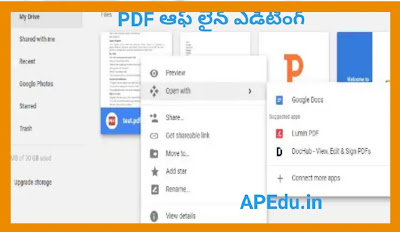 How to edit a PDF document file.