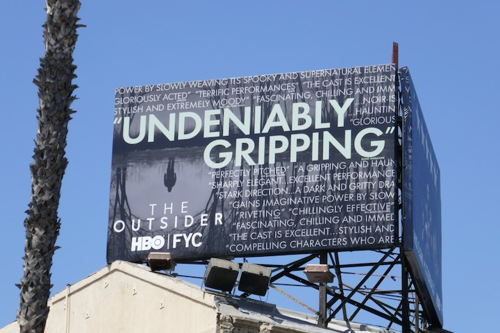 Outsider 2020 Emmy FYC billboard