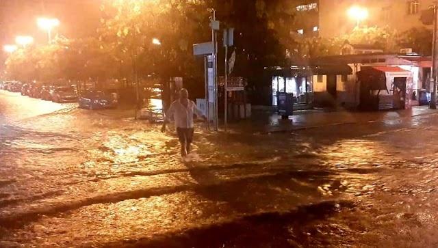 Szélviharral kísért heves esőzés söpört végig Horvátországon: Zágrábot elöntötte a víz - videó