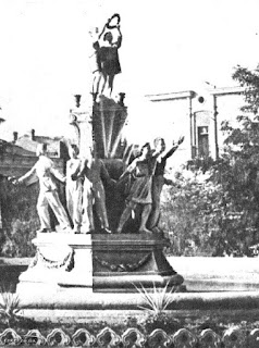 """Fountain """"Friendship of Peoples"""", historical photo 1"""