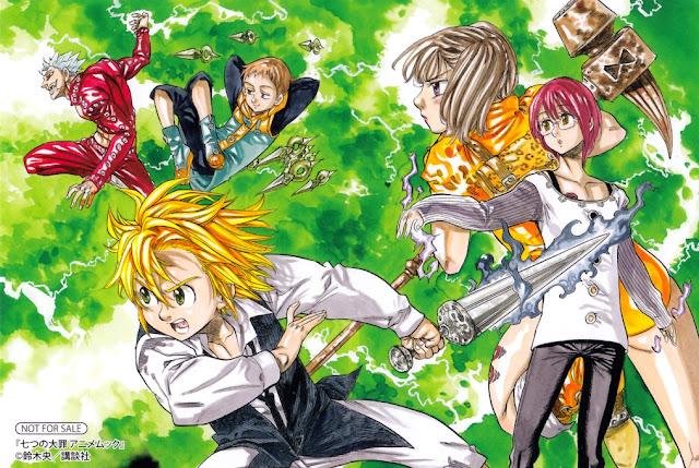 Nanatsu no Taizai Manga Fantasy Terbaik