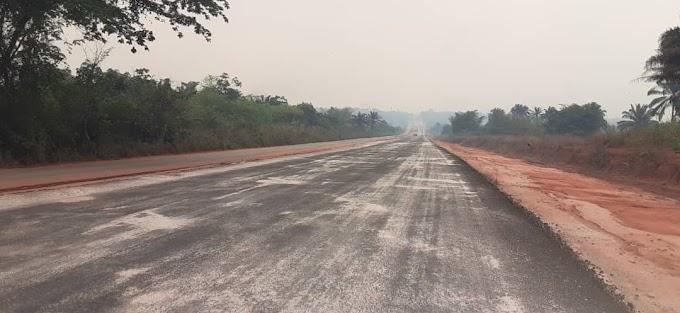 PROGRESS REPORT ON EWU, UROMI AGBOR ROAD