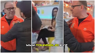 (بالفيديو) النائب عن حزب افاق تونس و كتلة الإصلاح الوطني صادق قحبيش يعتدي على إمرأة داخل إحدى المقاهي