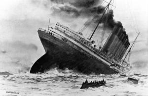 Питер Б. Мейер: Знание Правды Положит Конец вашему Долговому рабству Wreck-of-the-Titanic-300x194