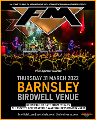 FM live at Barnsley Birdwell Venue - 31 March 2022 - poster
