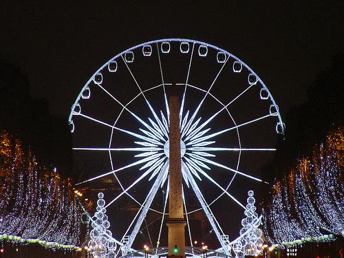 addobbi Natale Champs Elysees Parigi