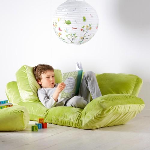 un coin lecture. Black Bedroom Furniture Sets. Home Design Ideas