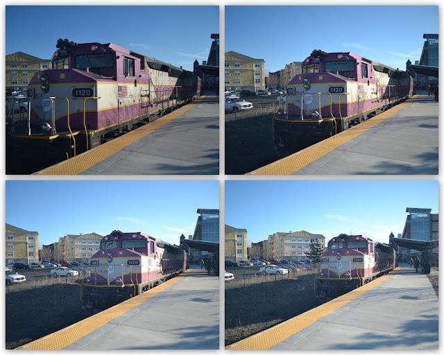 Train, Motion, Salem Depot, Salem, Massachusetts