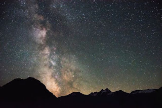 Cosmos-Mountains - Photo by justin beck on Unsplash