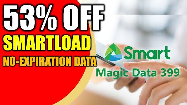 Technique to get up to 53% off of Smartload | Magic all data no expiration data from Smart