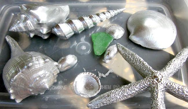 shiny shell DIY