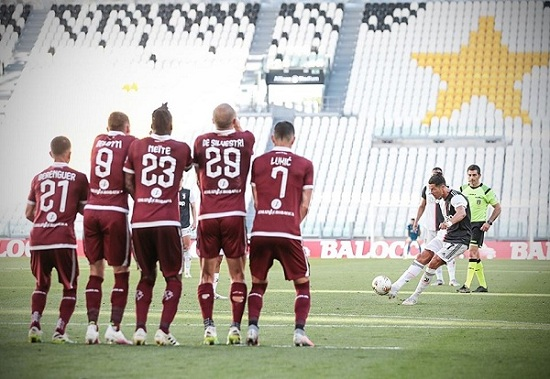 اهداف مباراة يوفنتوس وتورينو 41 فى الدورى الايطالى