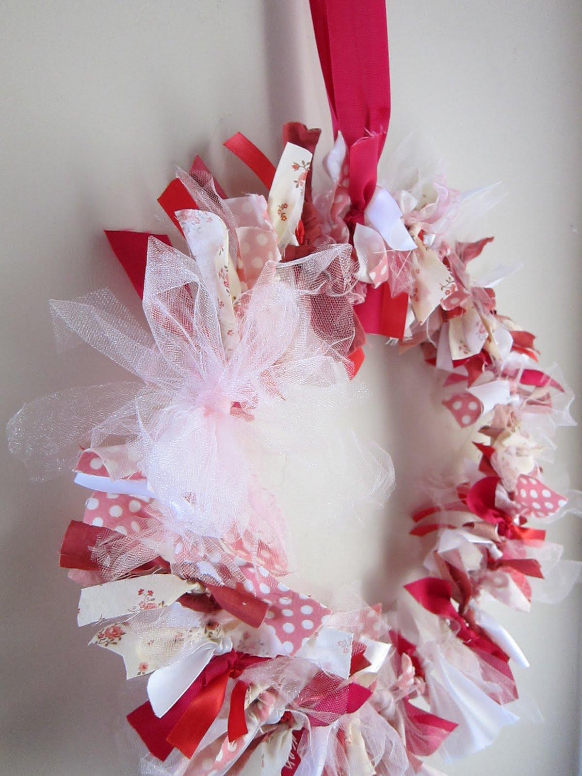 Do It Yourself Divas Diy Scrap Fabric Wreath