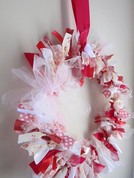 Divas Diy Scrap Fabric Wreath