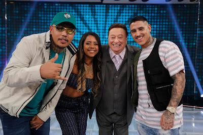 Os jurados de Funkeirinhos – MC PH, MC PP da VS e MC Rita (Foto: Rodrigo Belentani)