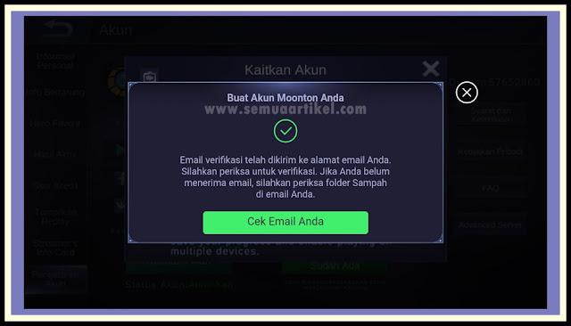 [SHARE] Cara Daftar ID Akun Moonton Mobile Legends - Forum Mobile