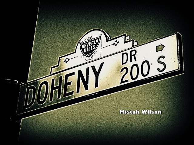 Doheny Drive, Beverly Hills, California by Mistah Wilson