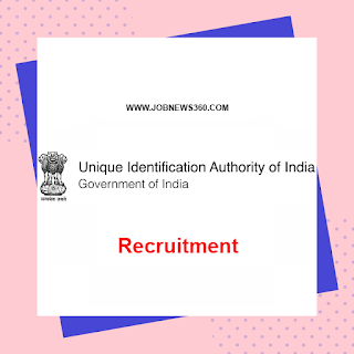 UIDAI Recruitment 2020 for Deputy Director General