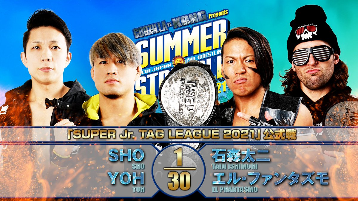 Cobertura: NJPW Summer Struggle 2021 – Day 9 – Pontos!