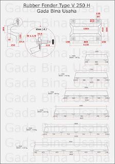 Spesifikasi Rubber Fender Type V
