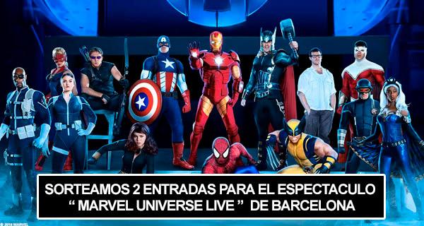 Concurso Marvel Universe Live Barcelona