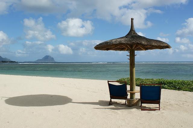 Relaxing in Mauritius!