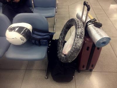 手荷物たち